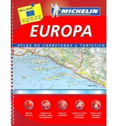 mapa michelin Europa michelin mapa carreteras anillas   BINARIO mapa michelin