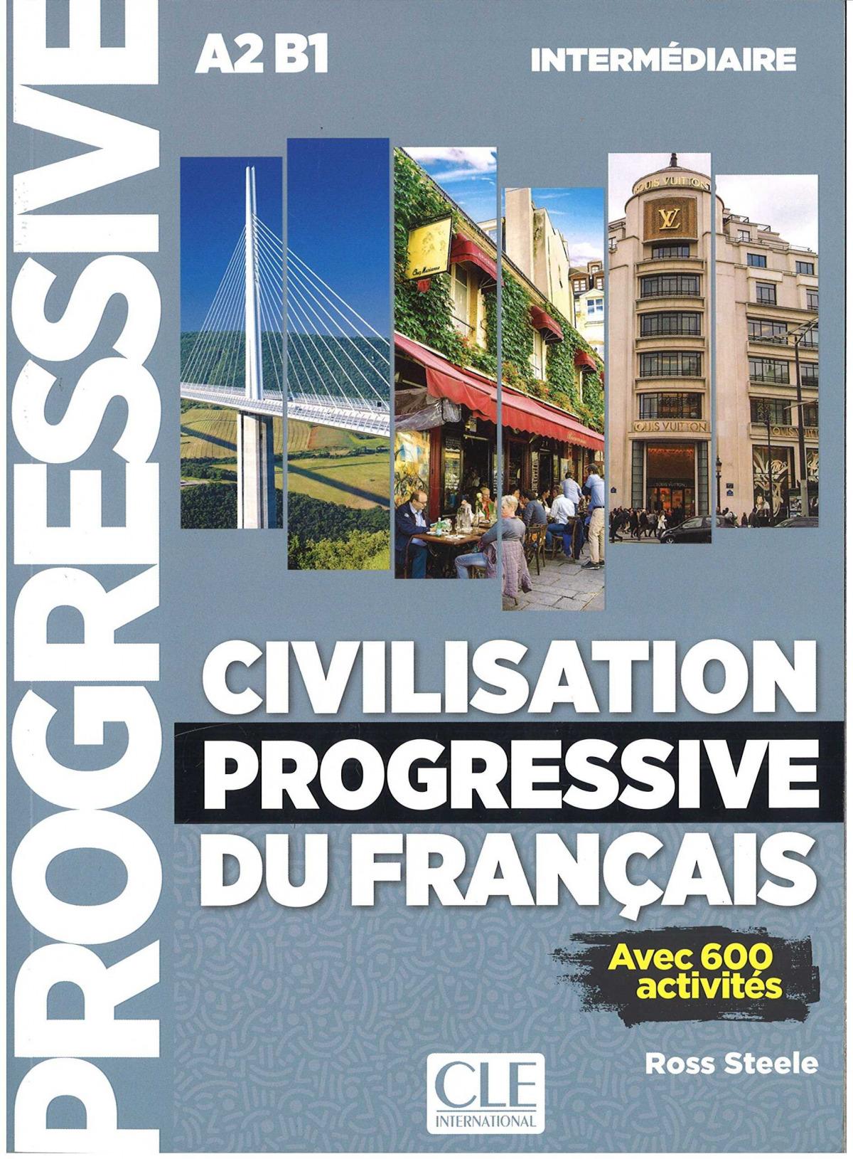 CIVILISATION PROGRESSIVE DU FRANÇAIS VRE + CD - 2º ED