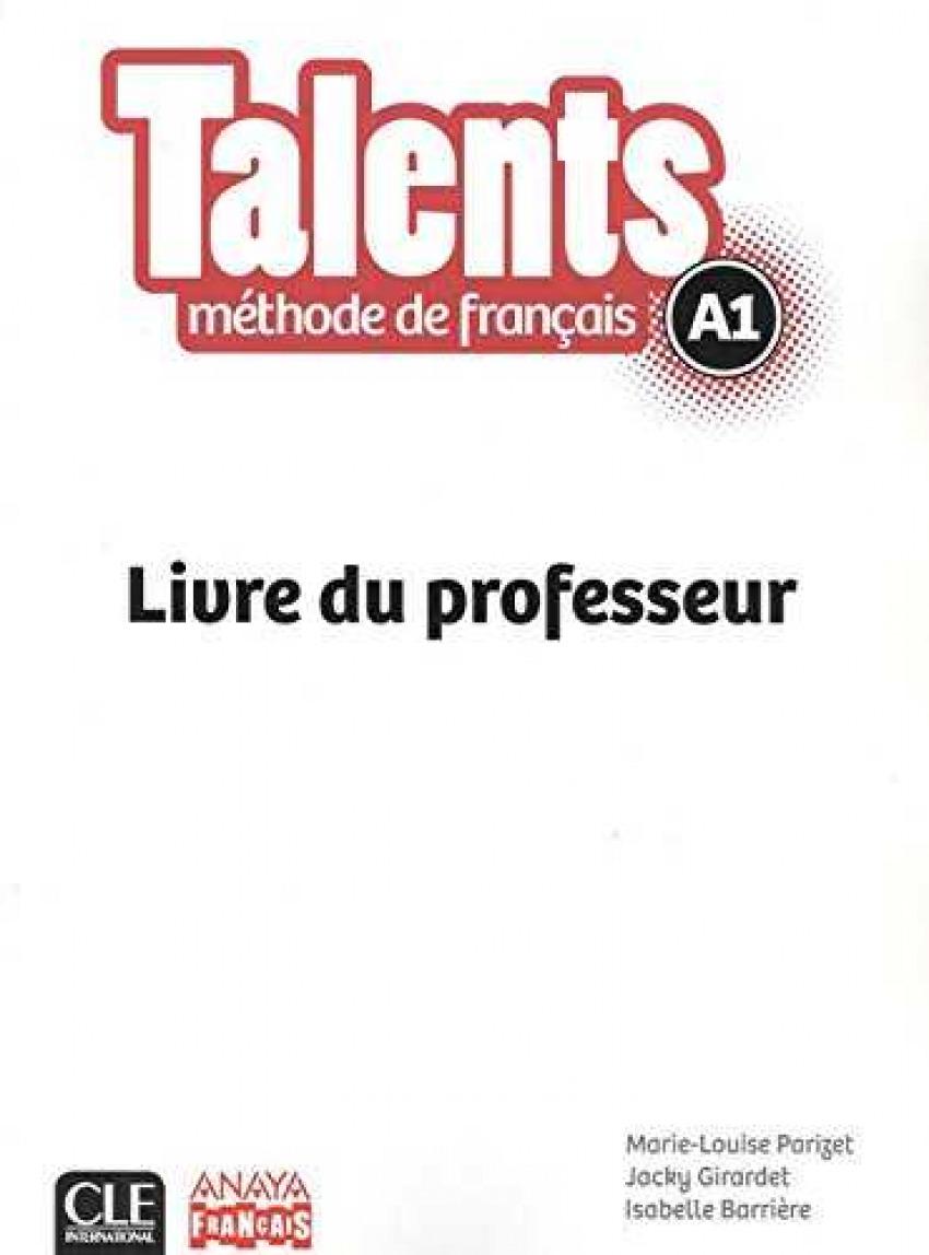 TALENTS A1.(LIVRE DE PROFESSEUR)