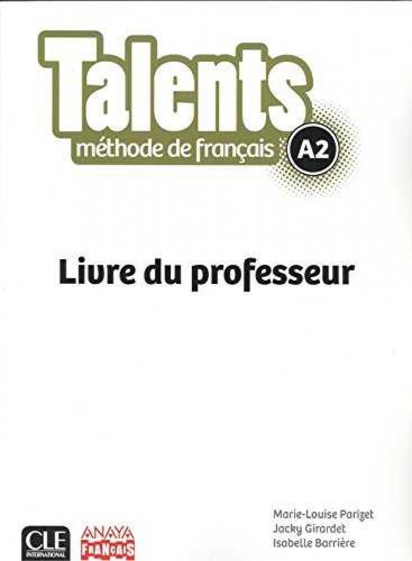 TALENTS A2.(LIVRE DE PROFESSEUR)