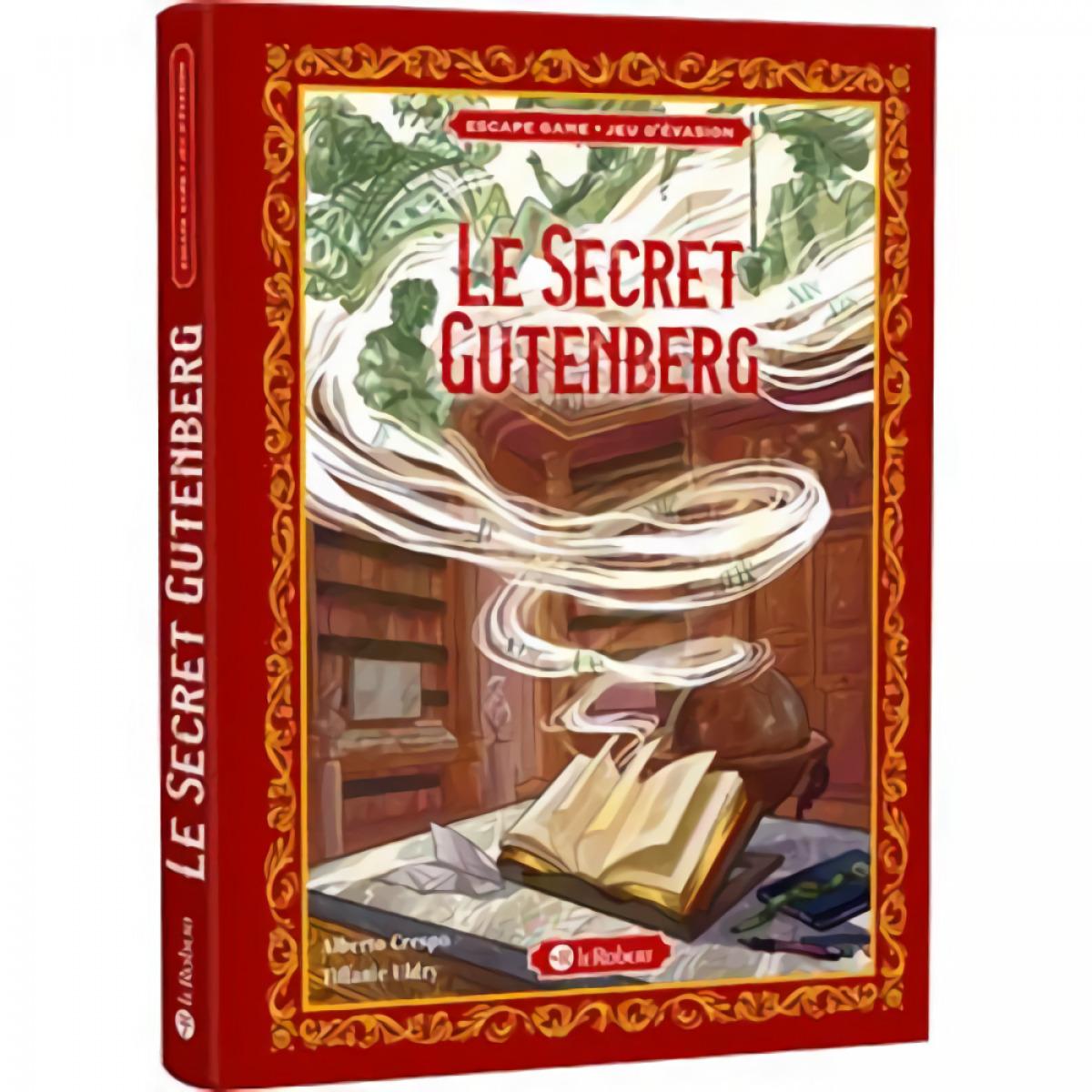 LE SECRET GUTENBERG (ESCAPE GAME)
