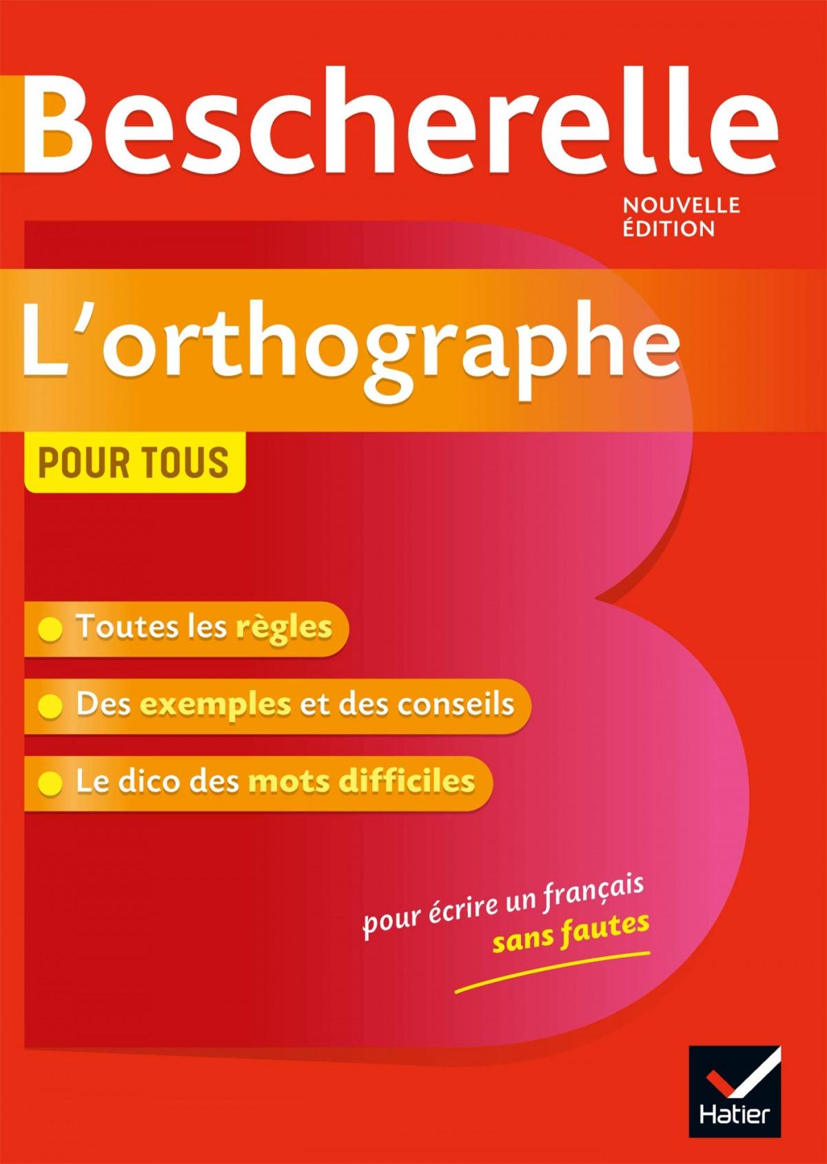 BESCHERELLE.L'ORTOGRAPHE POR TOUS