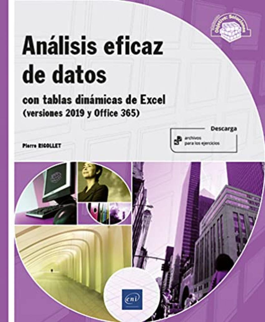 Análisis eficaz de datos - con tablas dinámicas de Excel (versiones 2019 y Offic