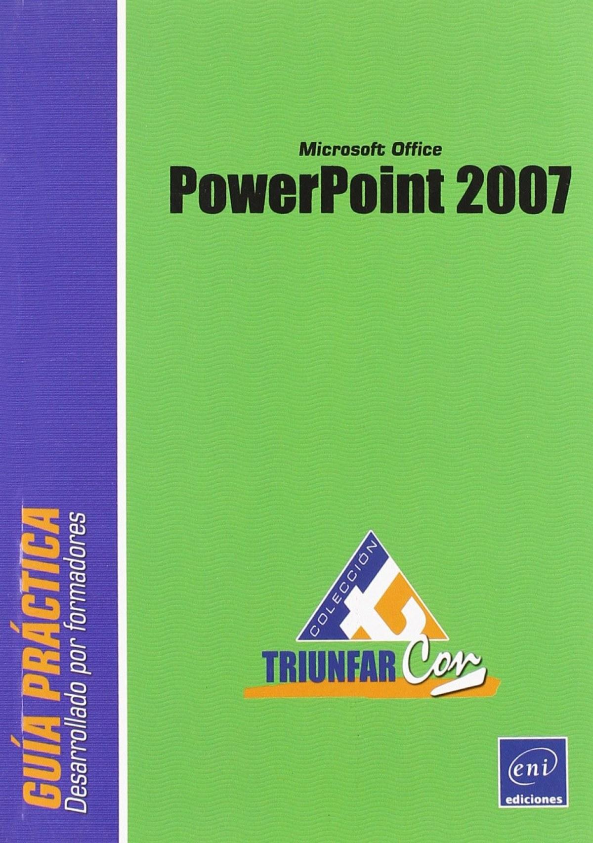 Triunfar Con POWERPOINT 2007