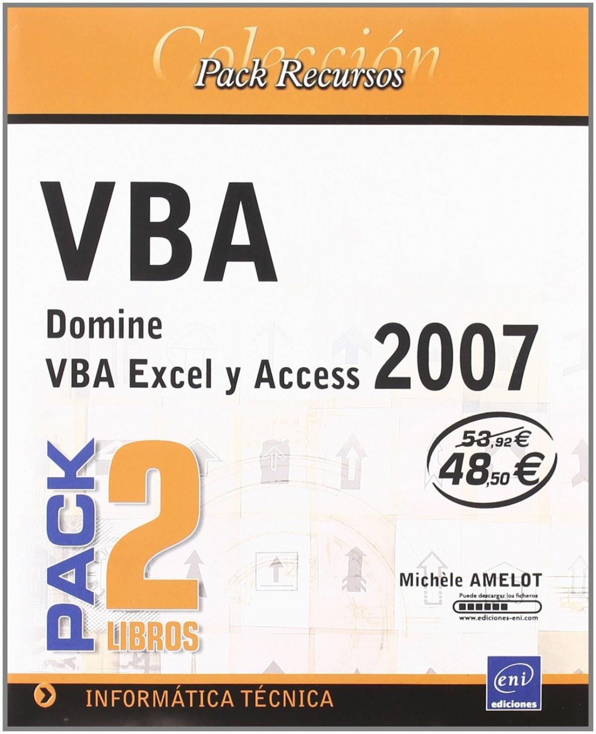 Pack Rec. Inform. VBA Excel y Access 2007