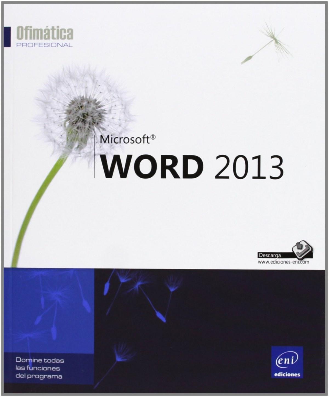 Ofimática Prof. Word 2013