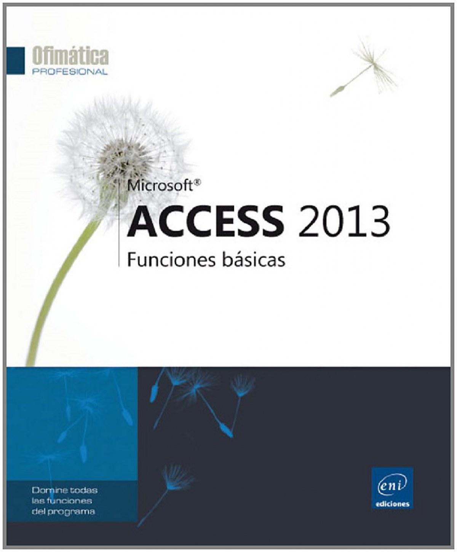 Ofimática Prof. Access 2013 - Funciones básicas