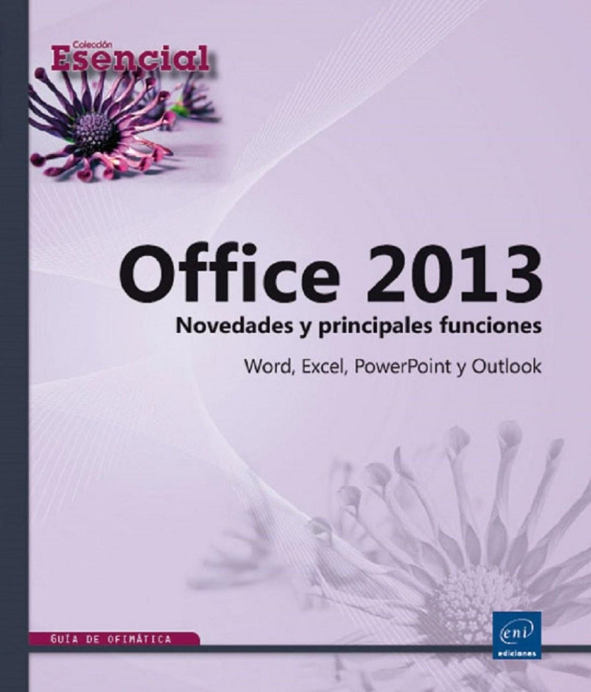 Esencial Office 2013 - Novedades