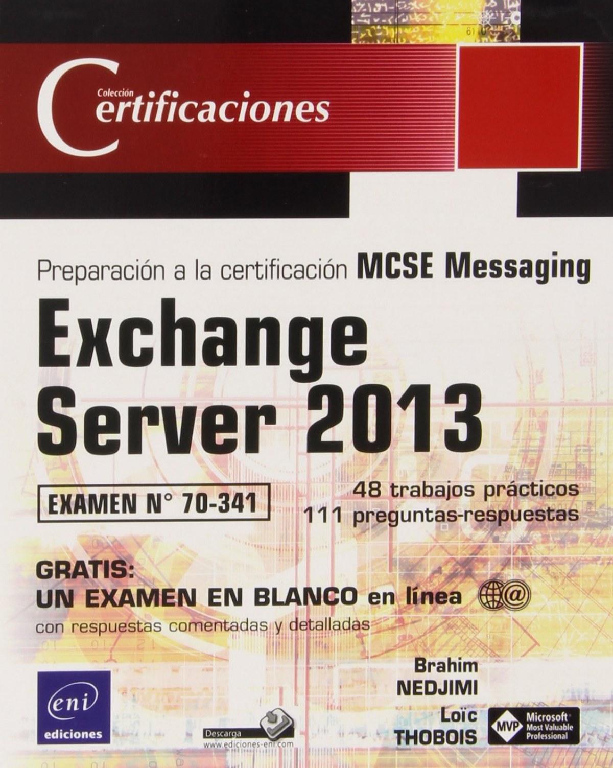 Certificaciones Exchange Server 2013 Examen 70-341
