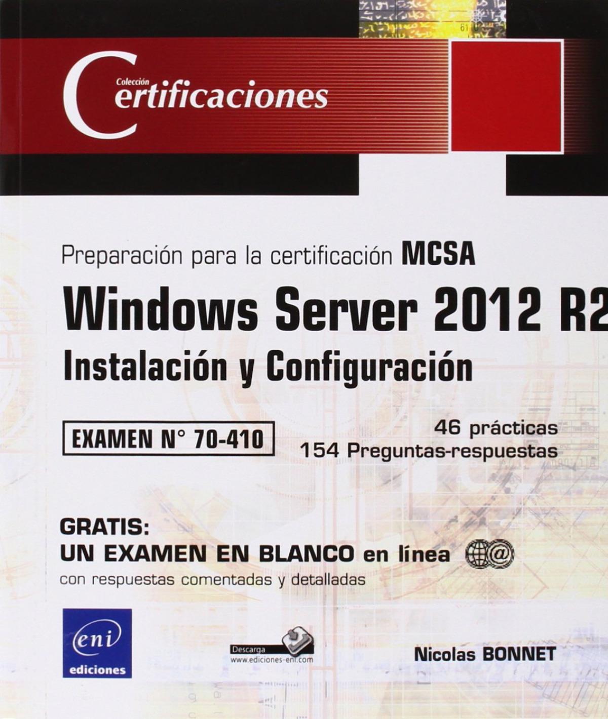 Certificaciones Windows Server 2012 R2 Examen 70-410