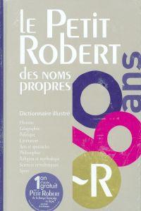 (11).PETIT ROBERT 2.NOMES PROPES.(60 ANS) 2012
