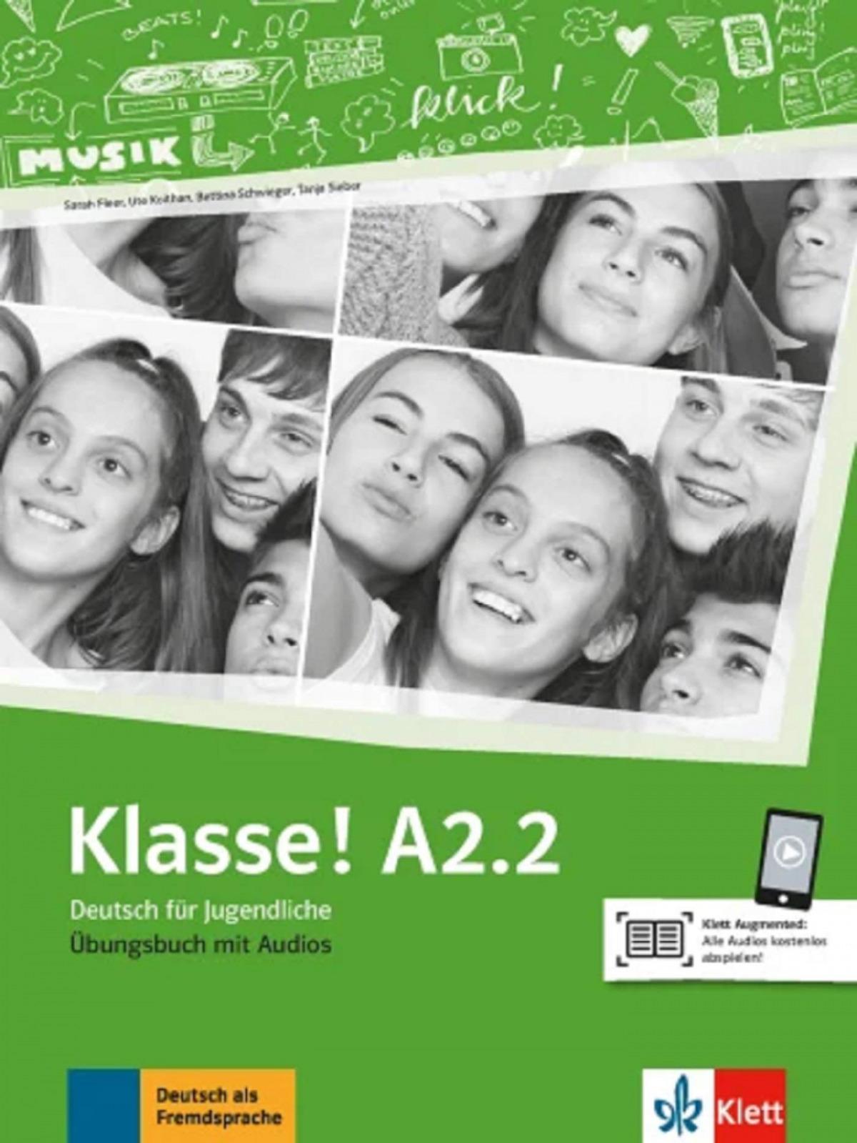 Klasse! a2.2, libro de ejercicios + audio