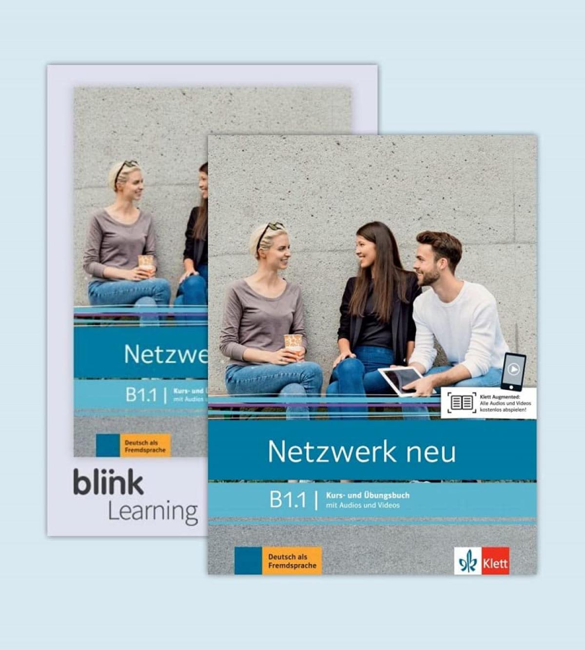 Netzwerk neu b1.1 alumno y ejercicios + licencia digital