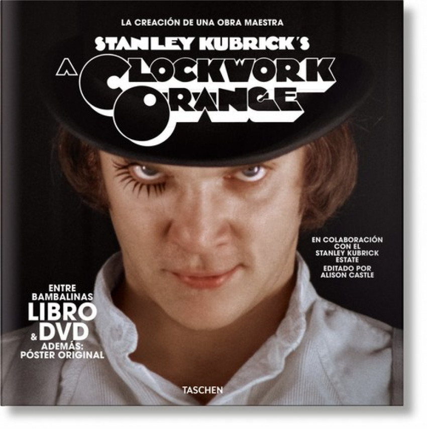 Stanley Kubrick. La naranja mecánica. Libro y DVD