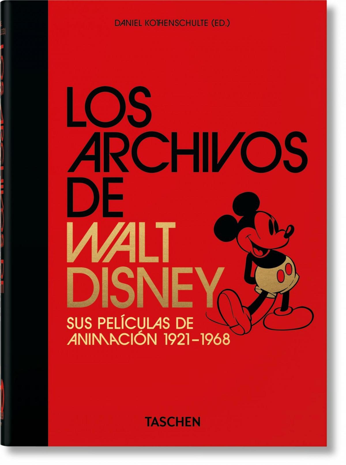 Los Archivos de Walt Disney: sus películas de animación 40th Anni
