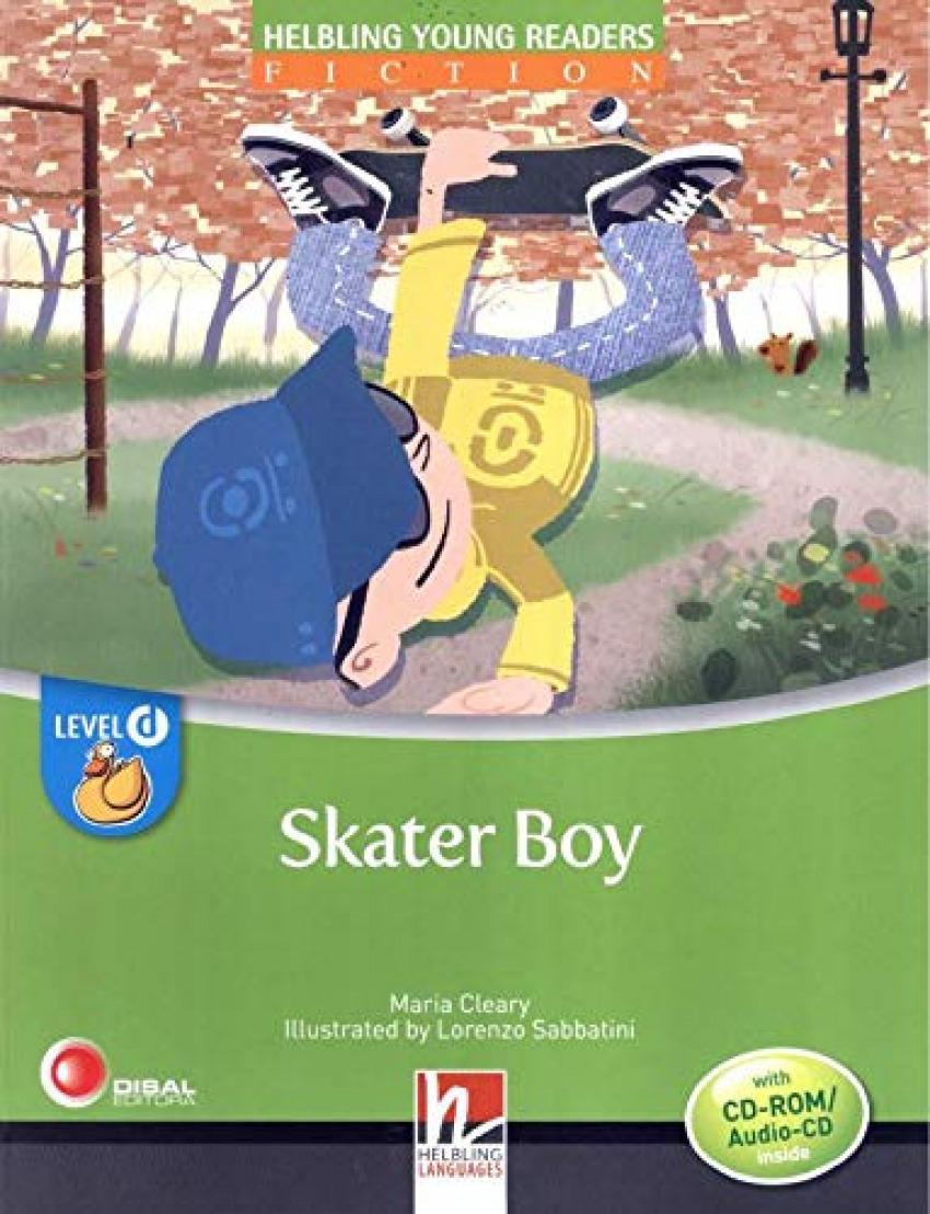 SKATER BOY.(+CD).(LEVEL D)