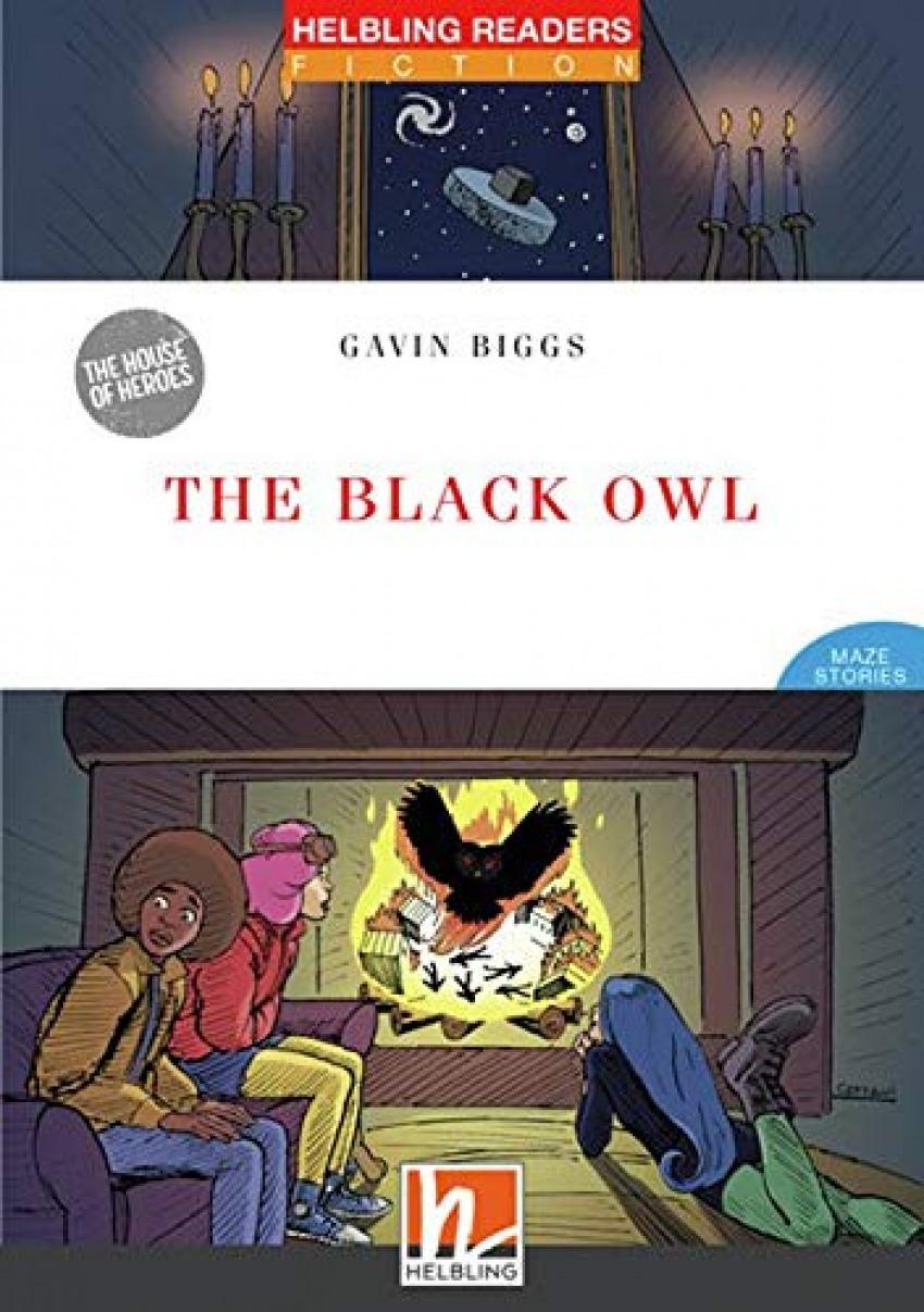 HRR (3) THE BLACK OWL + CD + EZONE