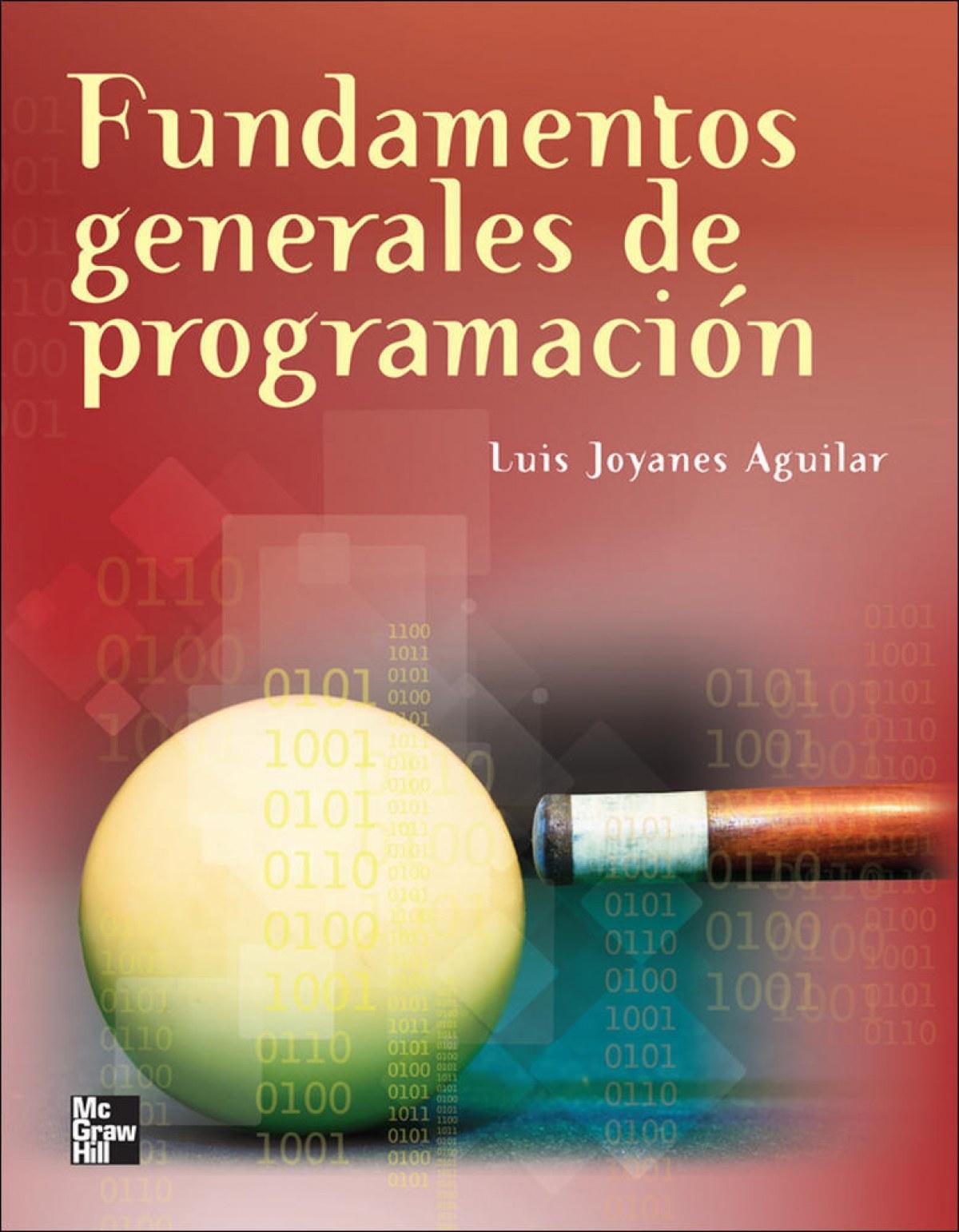 Fundamentos generales programacion 9786071508188