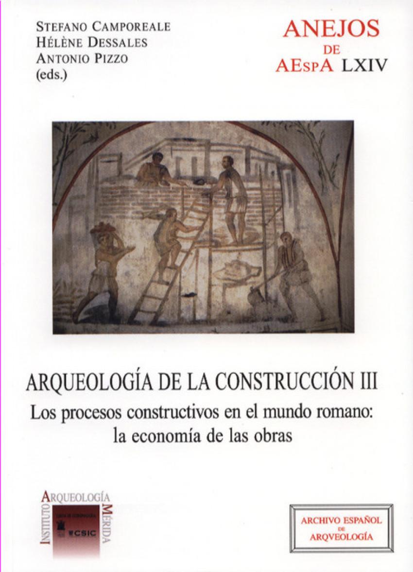 ARQUEOLOGÍA DE LA CONSTRUCCIÓN III