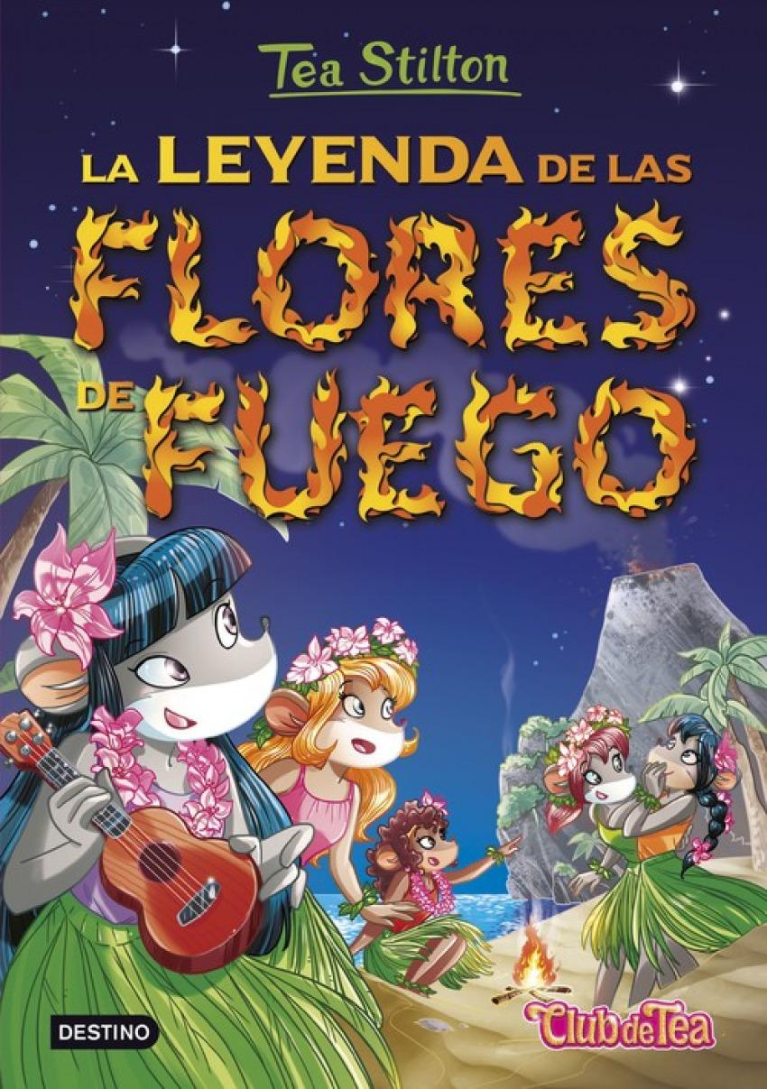 LA LEYENDA DE LAS FLORES DE FUEGO 9788408152569