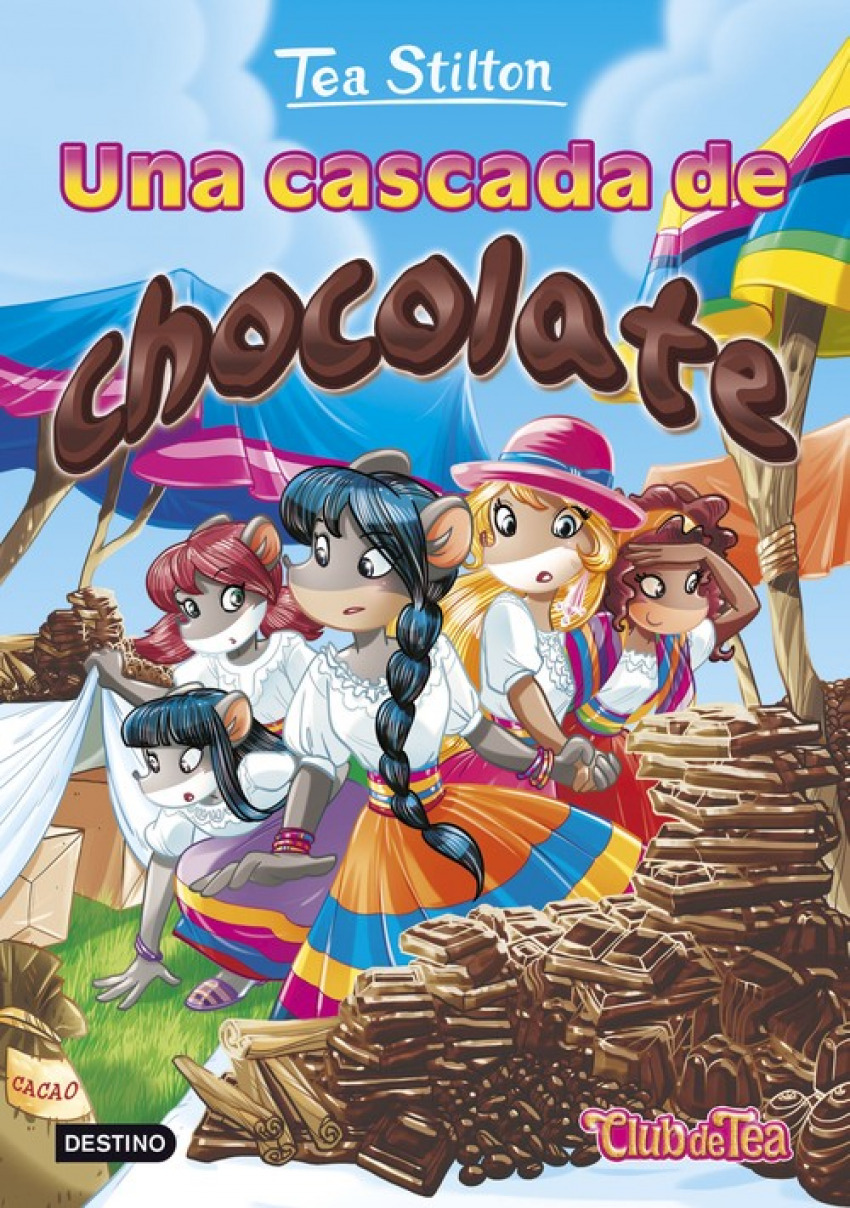 Una cascada de chocolate 9788408152583