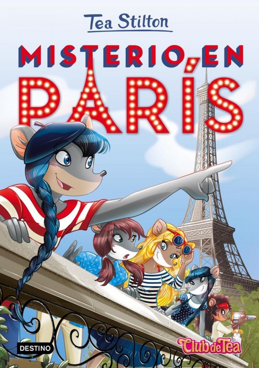 MISTERIO EN PARIS TEA STILTON