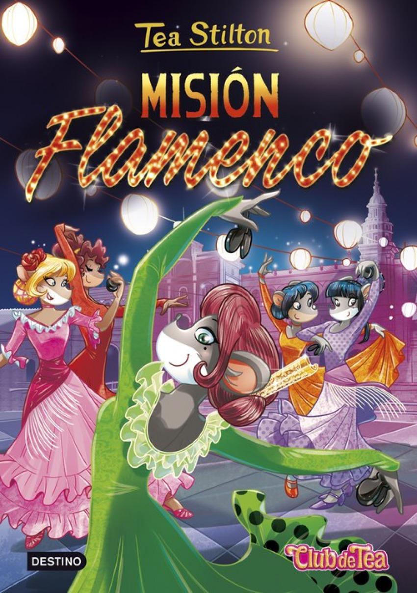 MISION FLAMENCO TEA STILTON