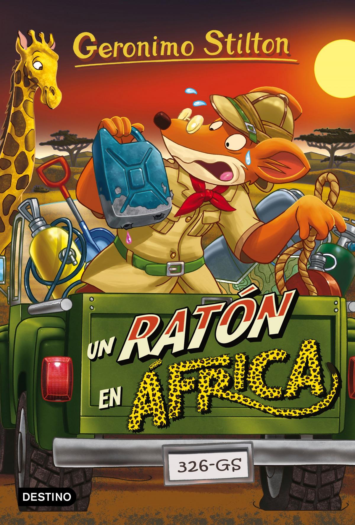 GERONIMO STILTON UN RATON EN AFRICA