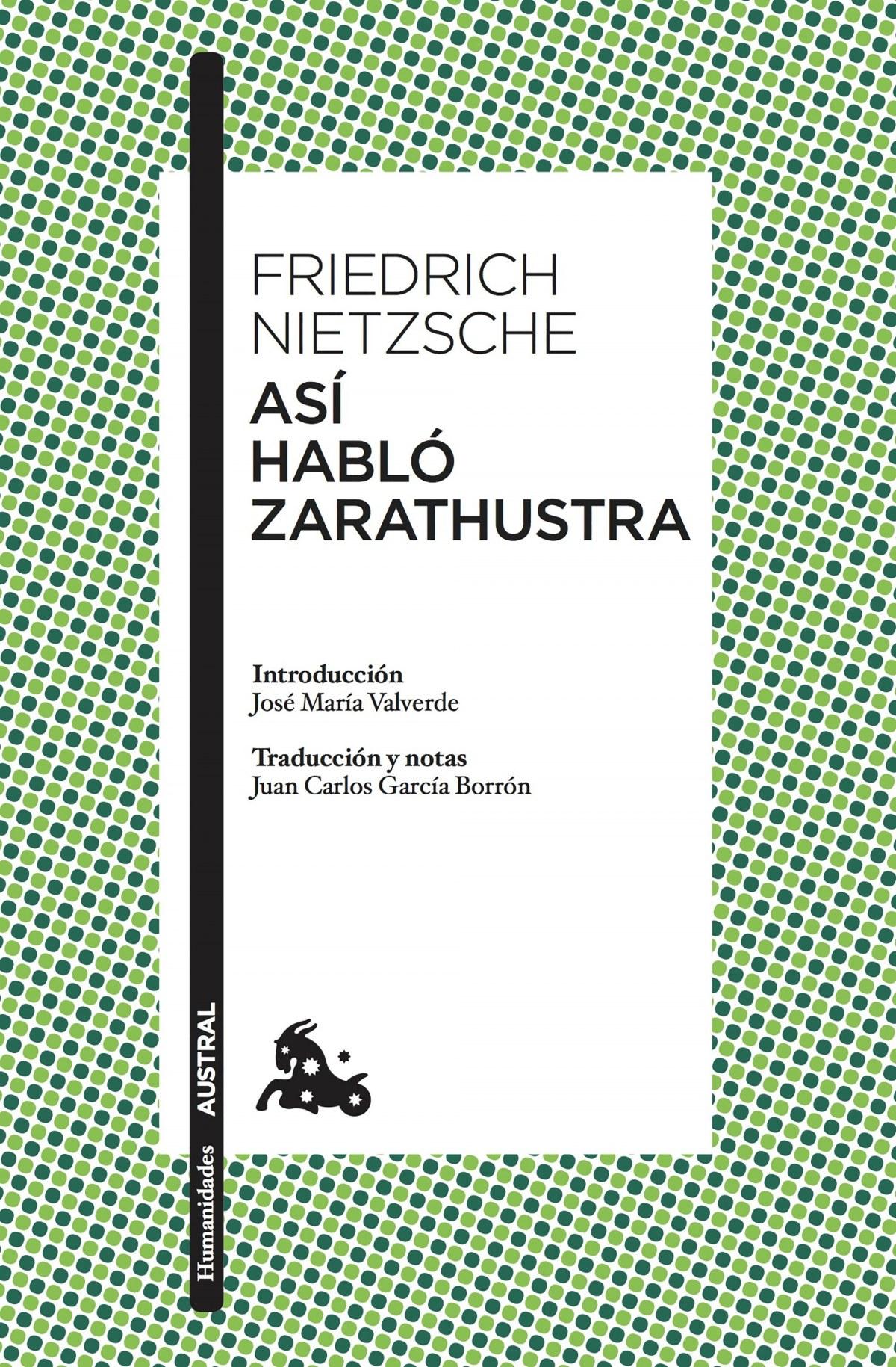 ASÍ HABLÓ ZARATHUSTRA