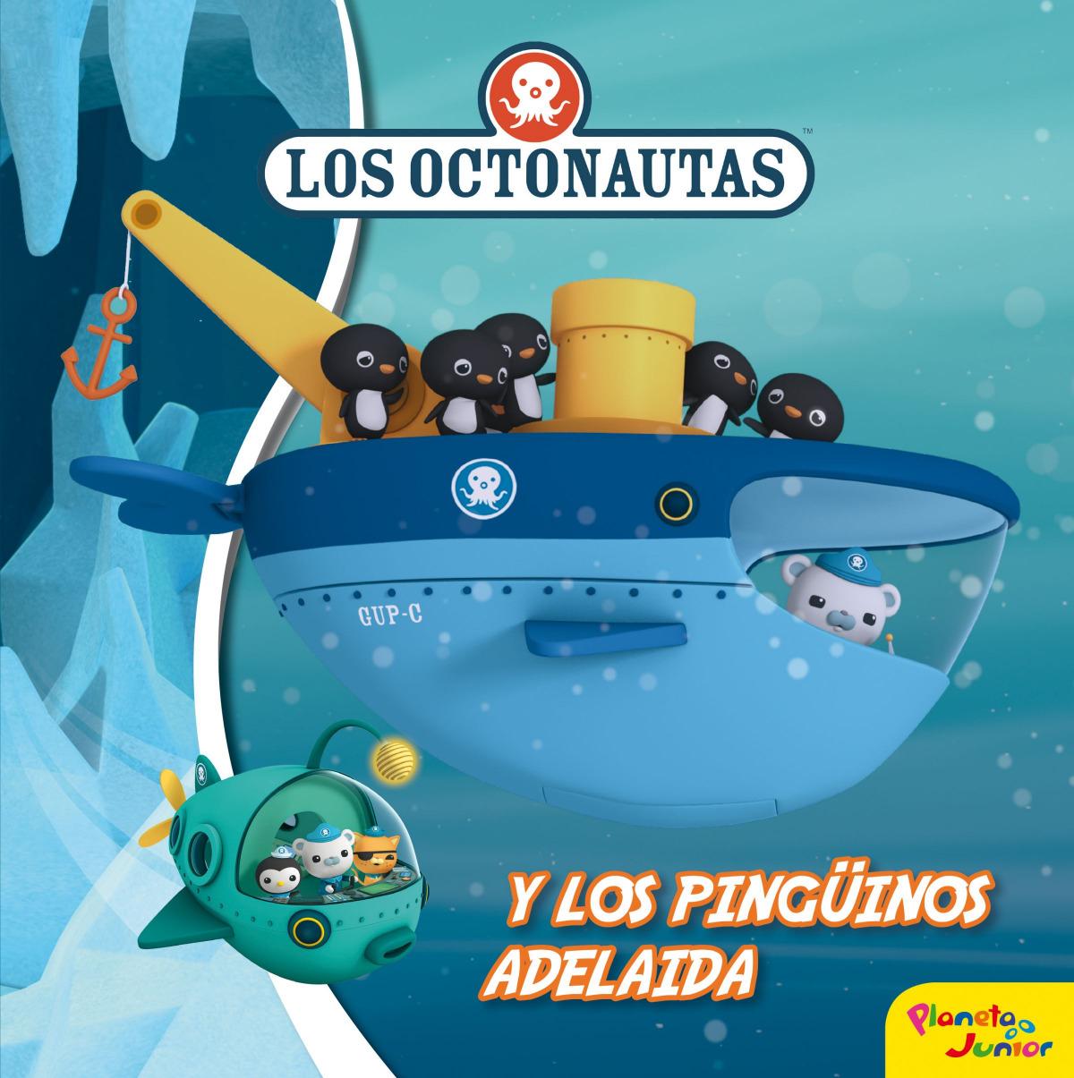 LOS OCTONAUTAS Y LOS PINGšINOS ADELAIDA