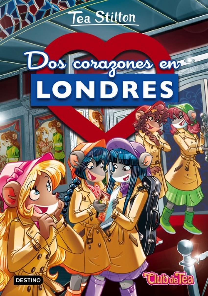 DOS CORAZONES EN LONDRES TEA STILTON