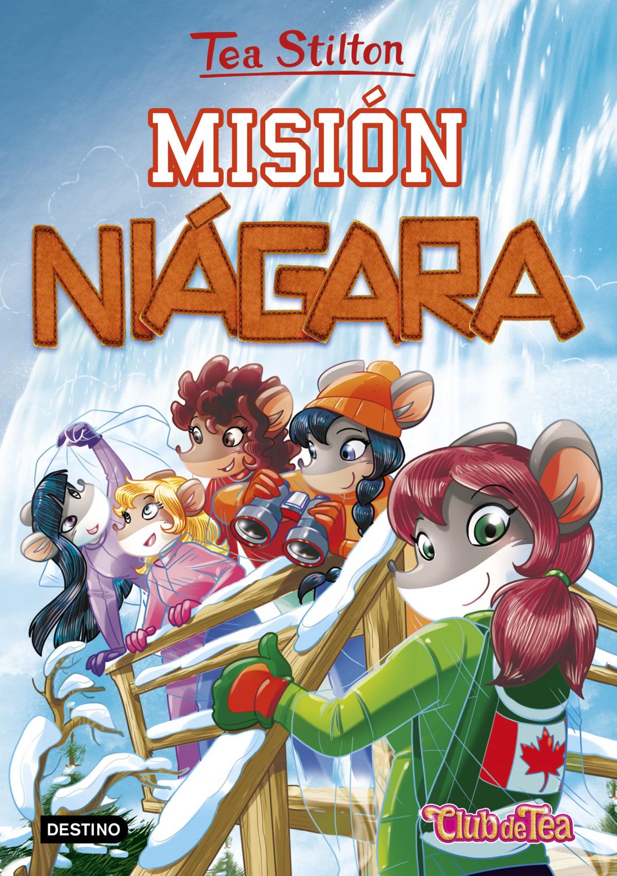 TEA STILTON  MISION NIAGARA