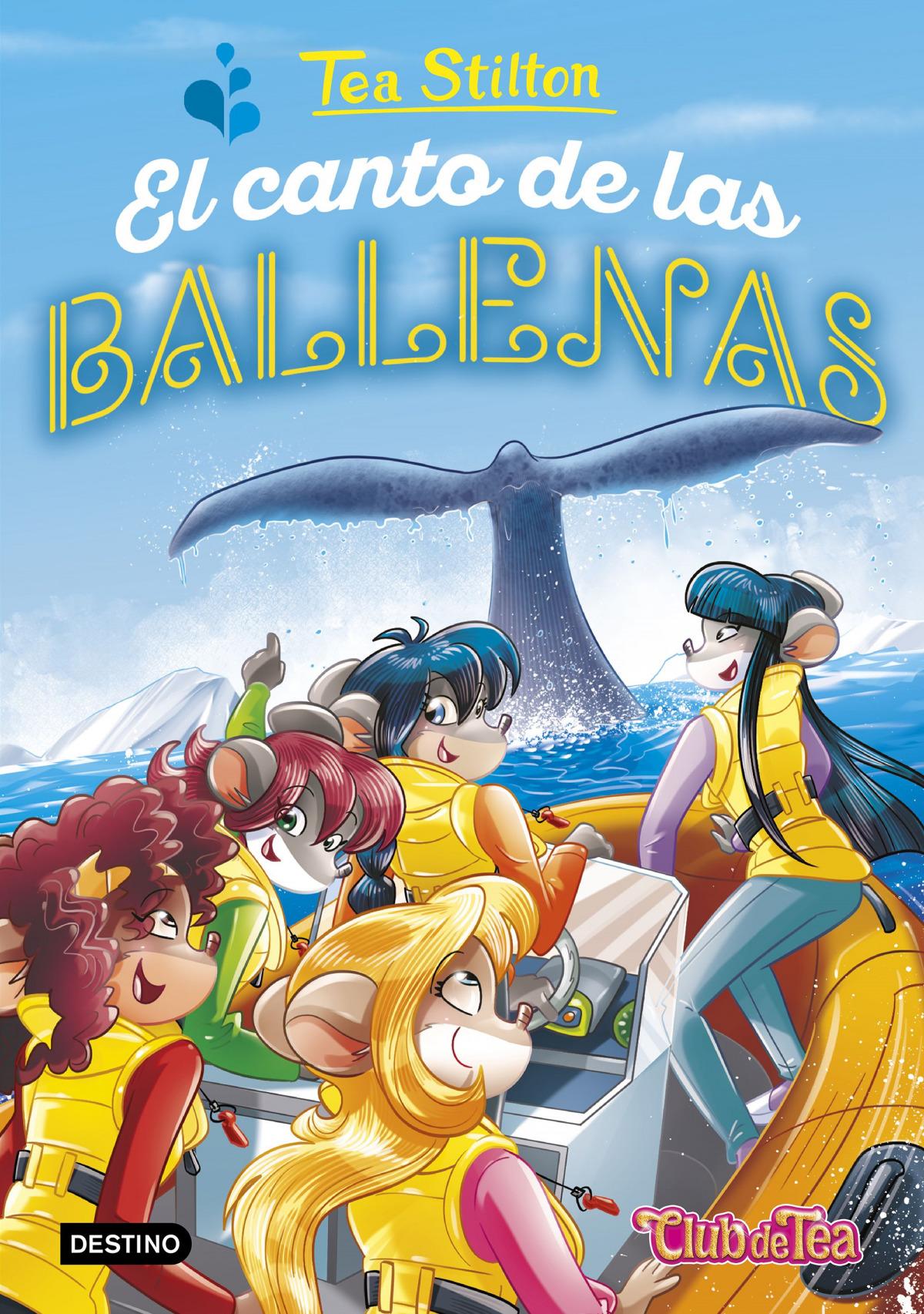 EL CANTO DE LAS BALLENAS TEA STILTON