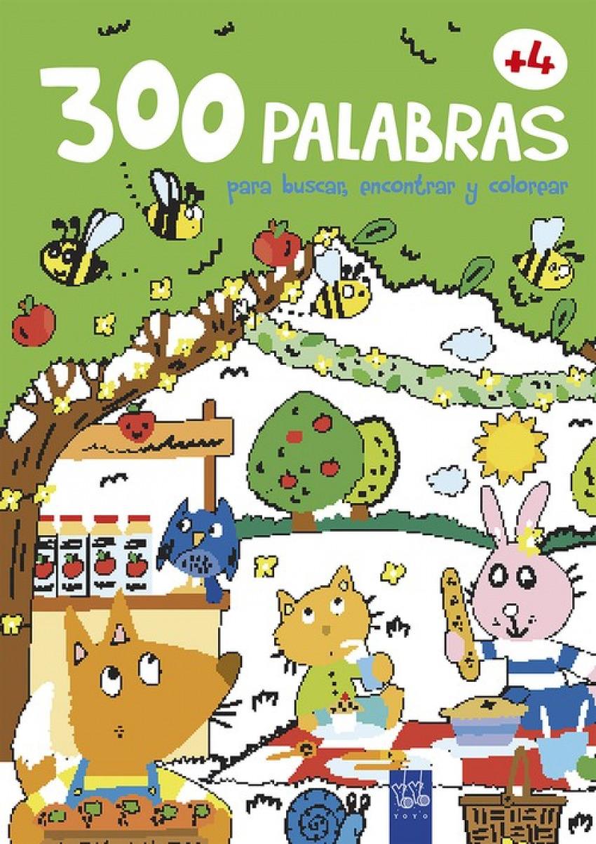 300 PALABRAS PARA BUSCAR, ENCONTRAR Y COLOREAR