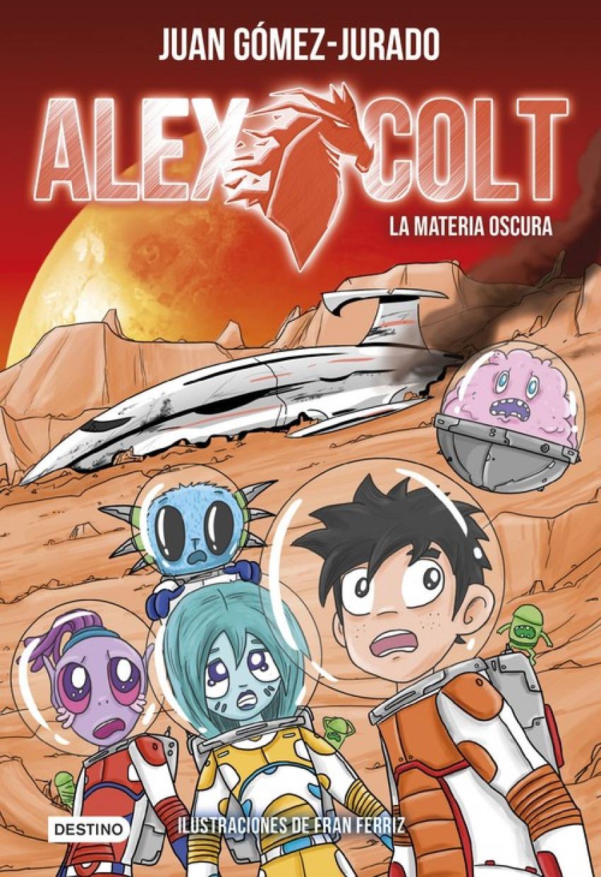 ALEX COLT 4 LA MATERIA OSCURA