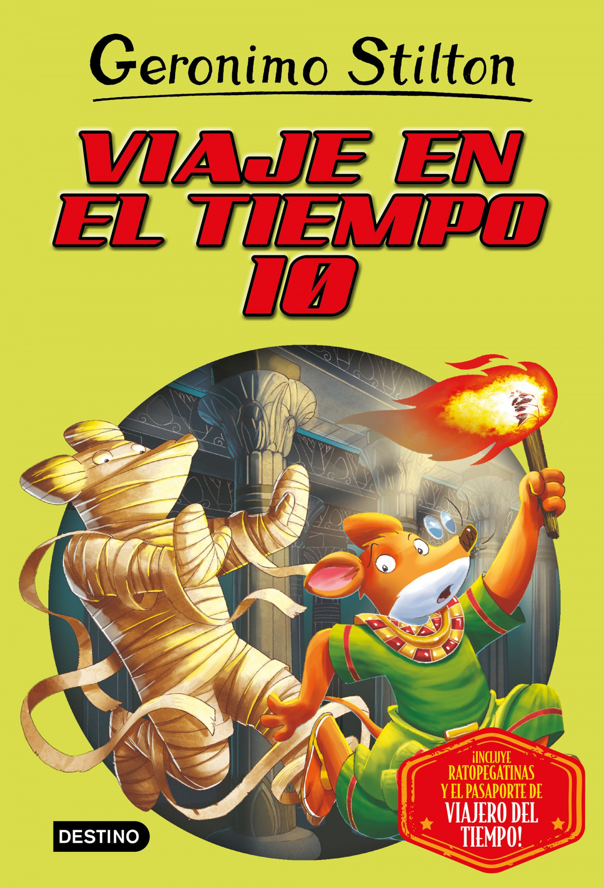 VIAJE EN EL TIEMPO 10 GERONIMO STILTON