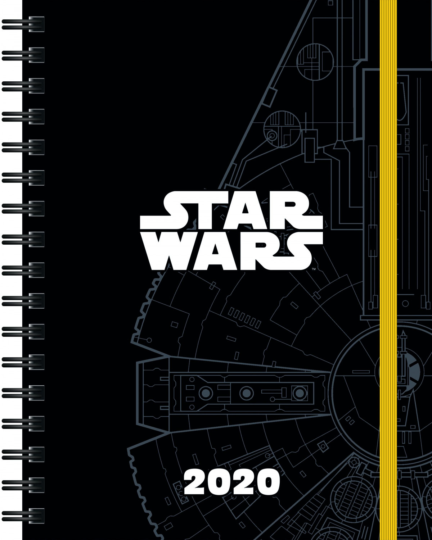 AGENDA STAR WARS 2020 9788408214168