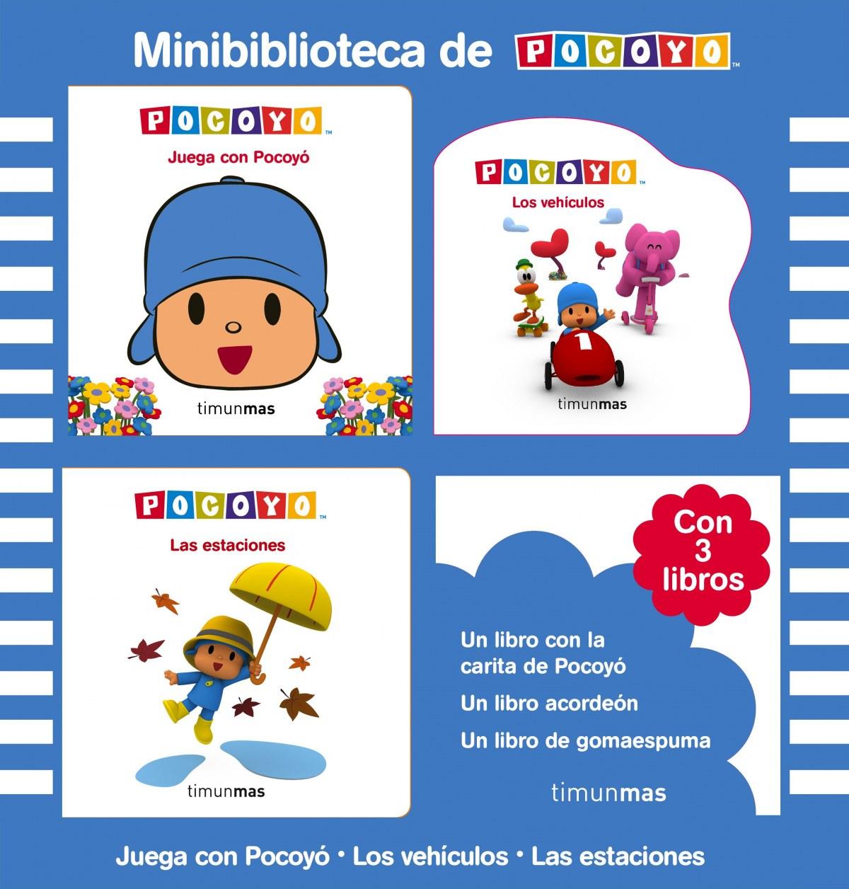 Minibiblioteca de Pocoyó