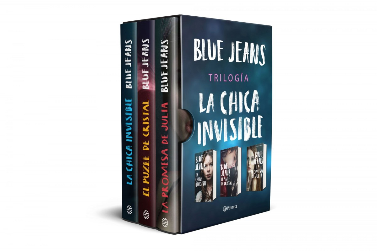 Estuche trilogía La chica invisible