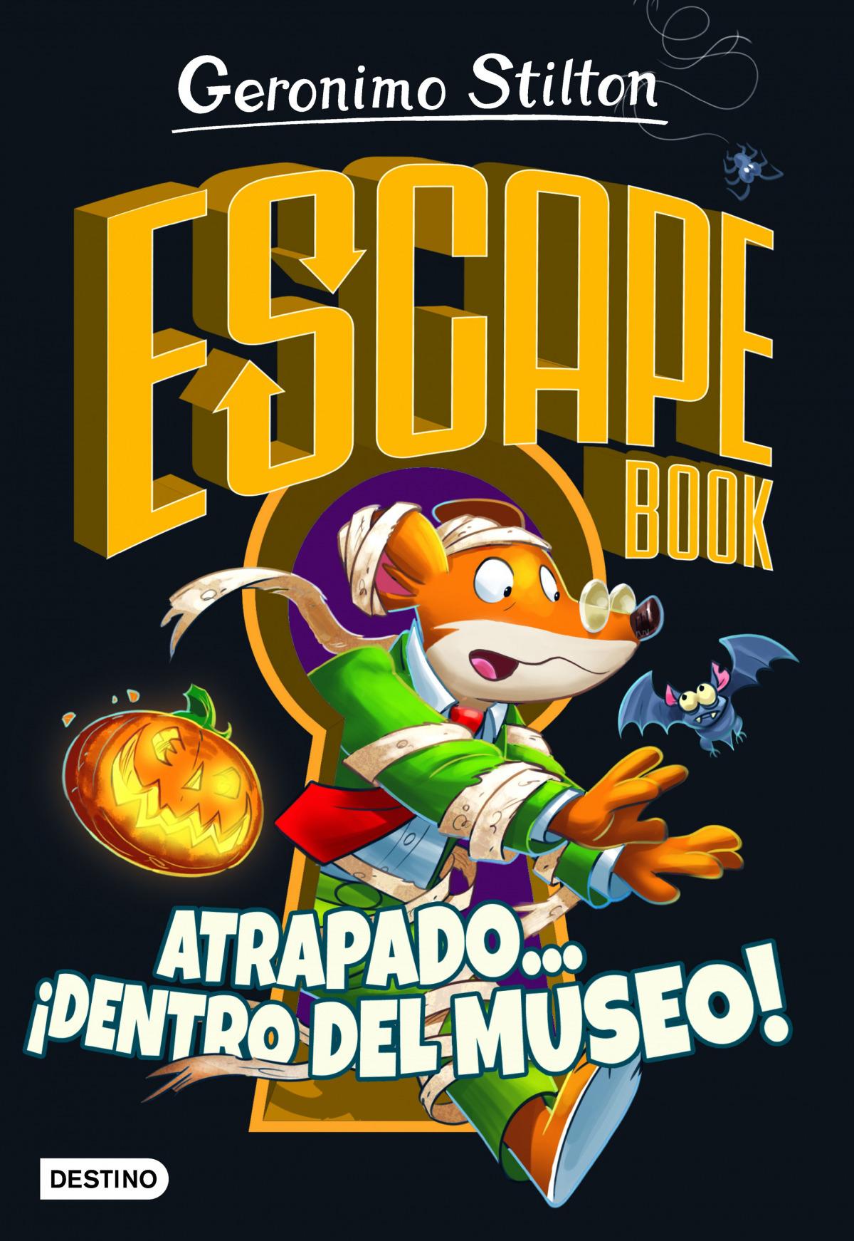 GS Escape book. Atrapado... ¡dentro del museo!