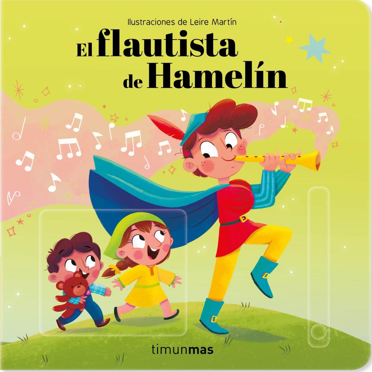El flautista de Hamelín. Cuento con mecanismos