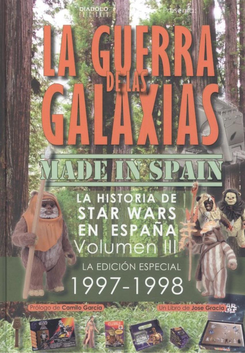GUERRA DE LAS GALAXIAS MADE IN SPAIN
