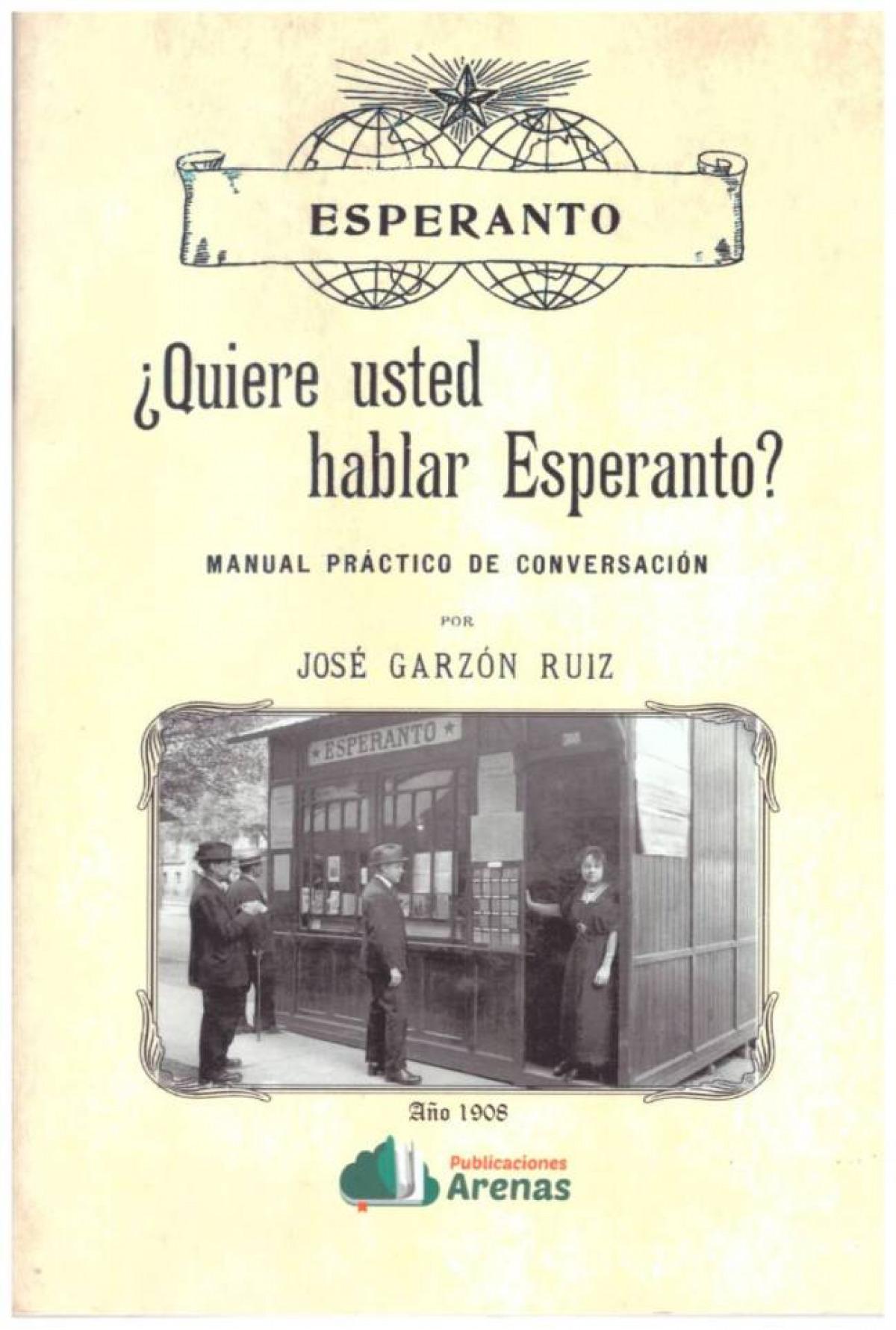 ¿QUIERE USTED HABLAR ESPERANTO?-MANUAL PRACTICO DE CONVERSACION