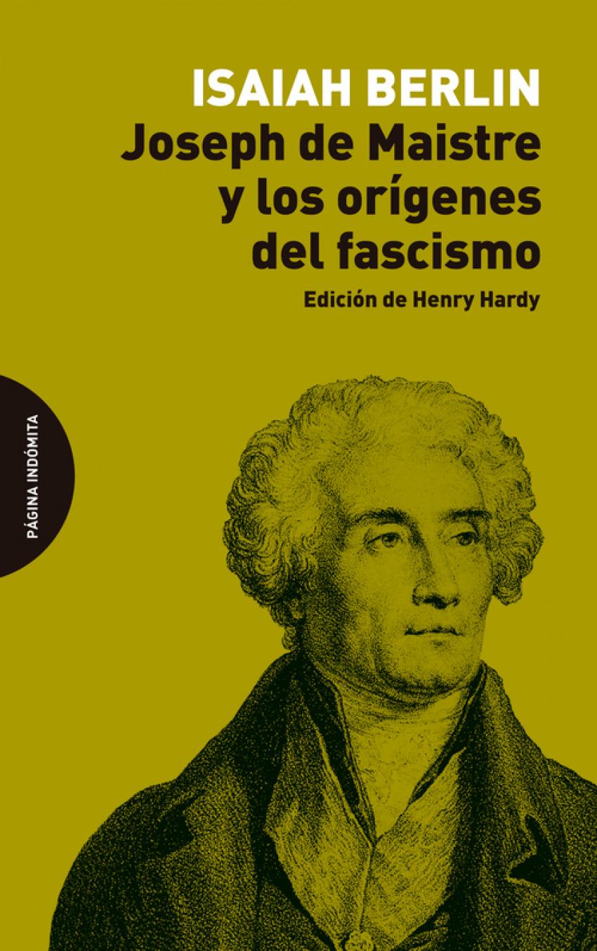 Joseph de Maistre y los orígenes del fascismo
