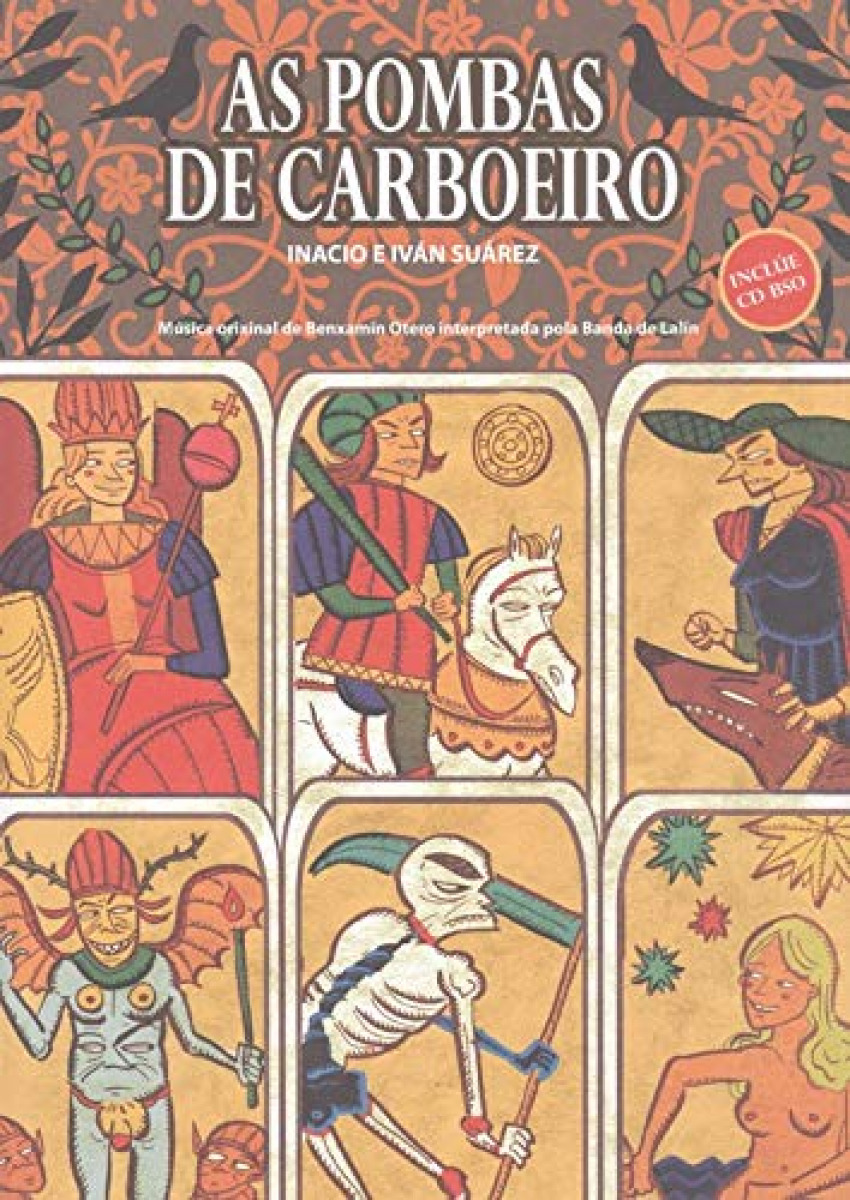 AS POMBAS DE CARBOEIRO INCLUE CD BSO