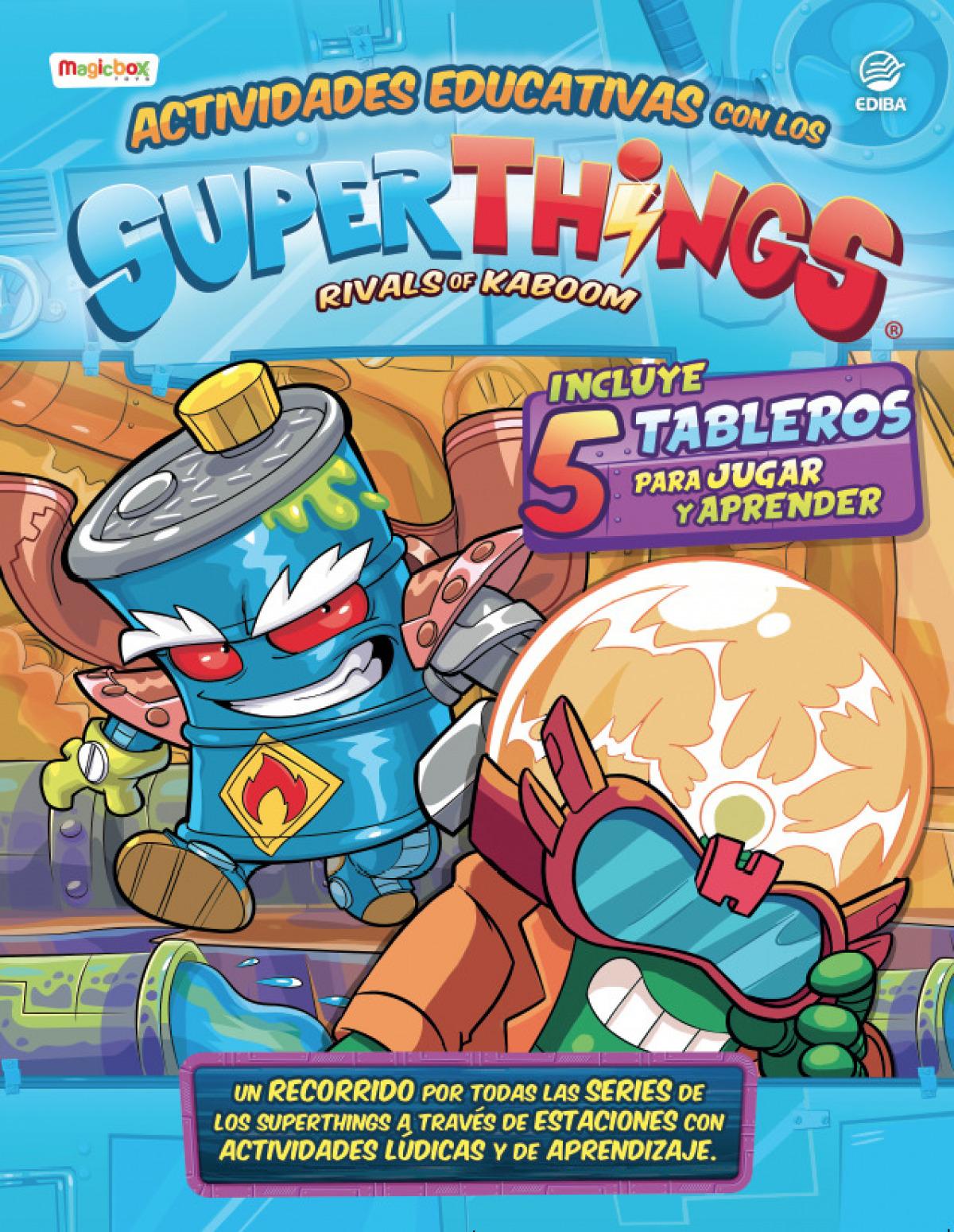 Actividades Educativas con los Superthings