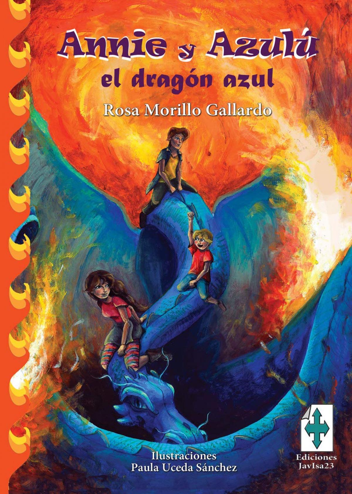 ANNIE Y AZULÚ, EL DRAGÓN AZUL