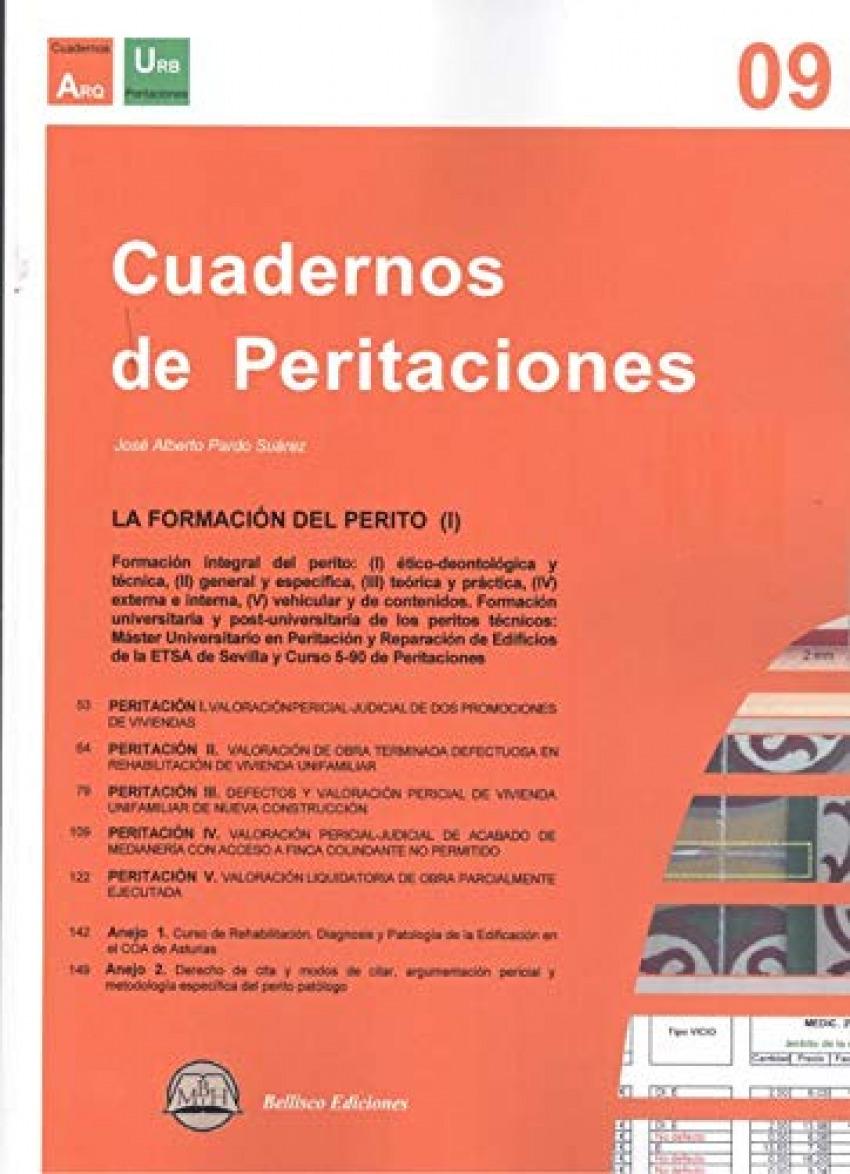CUADERNO PERITACIONES, 9 LA FORMACION DEL PERITO