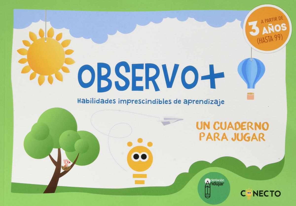 Observo+ Habilidades imprescindibles de aprendizaje (3 años)