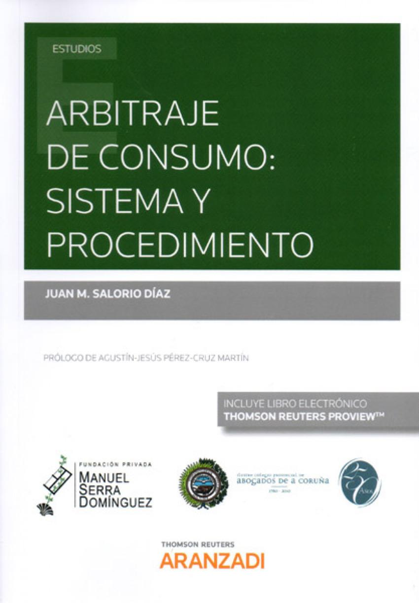 Arbitraje de consumo: sistema y procedimiento